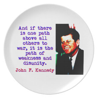 Prato E se há um trajeto - John Kennedy