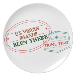 Prato E.U. Virgin Islands feito lá isso