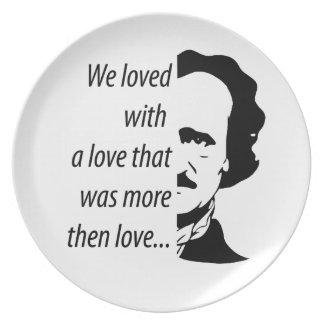 Prato Edgar Allan Poe