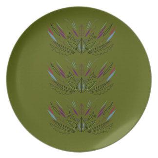 Prato Edição do verde de azeitonas