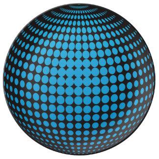 Prato esferas 3D com pontos