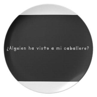 Prato Espanhol-Cavaleiro