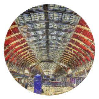Prato Estação Londres Van Gogh de Paddington