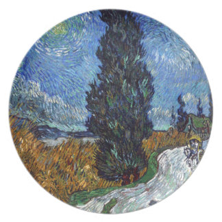 Prato Estrada secundária de Vincent van Gogh em Provence