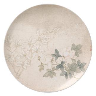 Prato Estudo 2 da flor - YUN Bing (chinês)