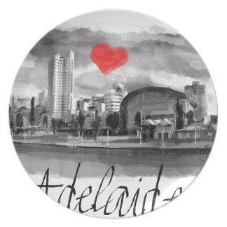 Prato Eu amo Adelaide