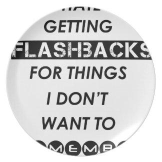 Prato eu deio conseguir flashback para o i'do das coisas
