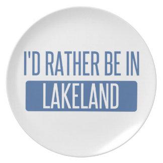 Prato Eu preferencialmente estaria em Lakeland