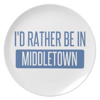 Prato Eu preferencialmente estaria em Middletown OH