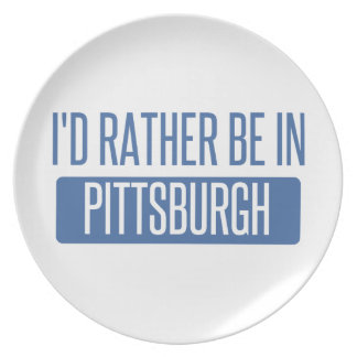 Prato Eu preferencialmente estaria em Pittsburgh