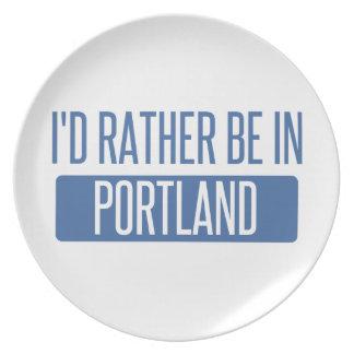 Prato Eu preferencialmente estaria em Portland OU
