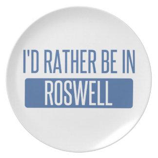 Prato Eu preferencialmente estaria em Roswell nanômetro