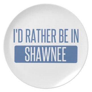 Prato Eu preferencialmente estaria no Shawnee