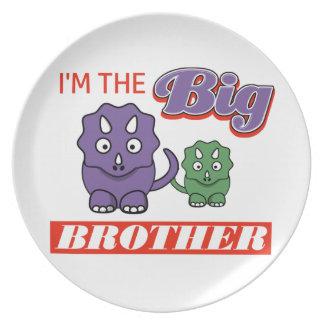 Prato Eu sou o design do big brother