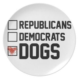 Prato Eu voto cães