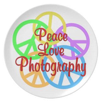 Prato Fotografia do amor da paz
