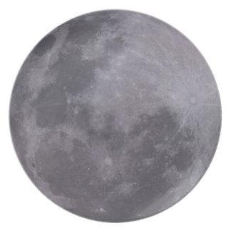 Prato Fotografia telescópica da Lua cheia