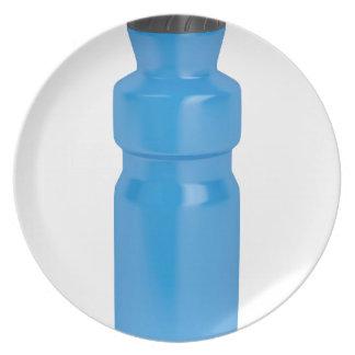 Prato Garrafa plástica azul