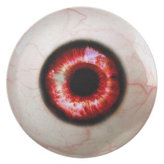 Prato Globo ocular assustador