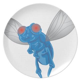 Prato Gráfico da mosca