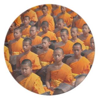 Prato Grande grupo de monges Meditating