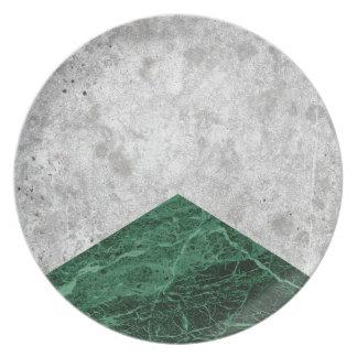Prato Granito concreto #412 do verde da seta