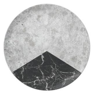 Prato Granito concreto #844 do preto da seta