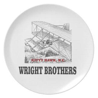Prato história do irmão de wright