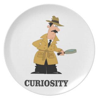 Prato homem da curiosidade