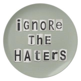 Prato Ignore os haters.