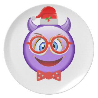 Prato Impertinente e Geeky no Natal Emoji