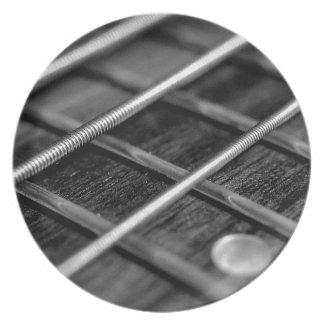 Prato Instrumento do som da rocha da música da guitarra