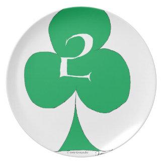 Prato Irlandês afortunado 2 dos clubes, fernandes tony