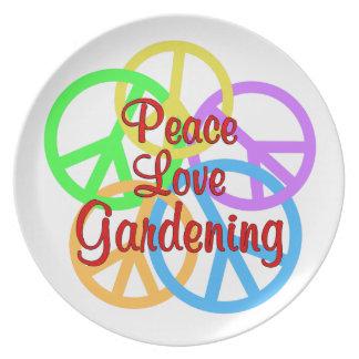 Prato Jardinagem do amor da paz