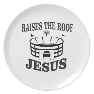 Prato Jesus aumenta o telhado yeah
