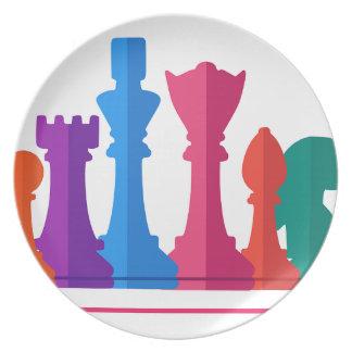 Prato Jogo de xadrez