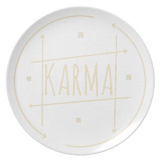 Prato Karmas (para o fundo escuro)