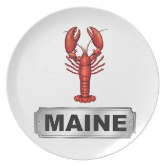 Prato Lagosta de Maine