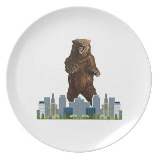 Prato Lançamento do urso