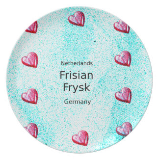 Prato Língua do Frisian (Alemanha e Países Baixos)