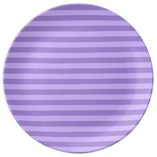 Prato Listras finas - violetas e claras - violeta