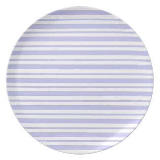 Prato Luz - riscas azuis