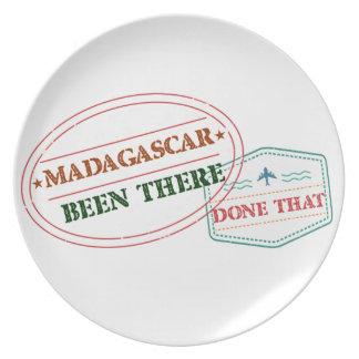 Prato Madagascar feito lá isso