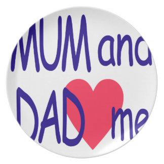 Prato Mãe e pai mim, mamã