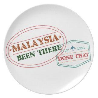 Prato Malaysia feito lá isso