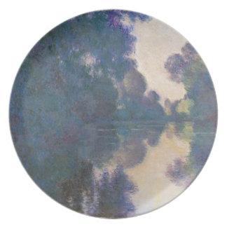 Prato Manhã no Seine perto de Giverny - Claude Monet.j