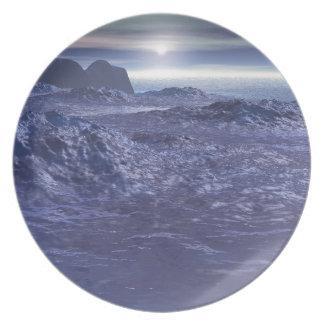 Prato Mar congelado de Netuno