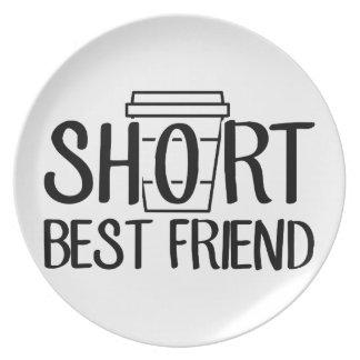 Prato Melhor amigo curto