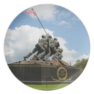 Prato Memorial de Iwo Jima no Washington DC