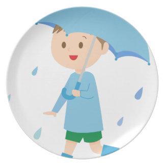Prato Menino na chuva